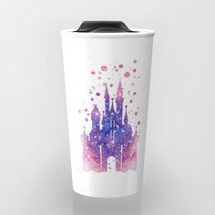 Disneys Cinderella Castle Travel Mug