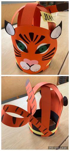 Animal Crafts For Kids, Creative Kids, Diy And Crafts, Helmet, Crafty, School, Paper, Hats, Birthday