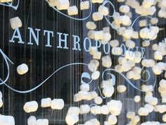 """Anthropologie launched in 1992 and falls under the hipster umbrella of Urban Outfitters, Inc. Providing unique and artful dresses, Anthropologie's mission is to create an """"unimagined. My Life Style, My Style, Love To Shop, My Love, Store Displays, Window Displays, Store Fronts, Anthropology, Cabinets"""