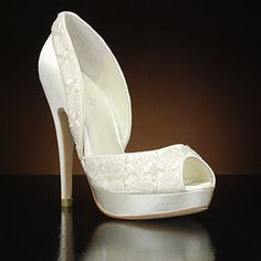 MENBUR NEVIS-5346 Wedding Shoes and NEVIS-5346 Bridal Shoes IVORY