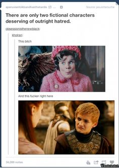 Or they could get married and Walder Frey could host it