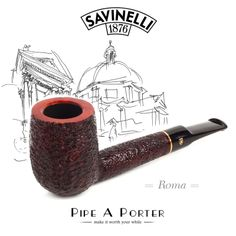 Savinelli Roma online shop www.pipeaporter.com