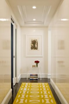 #hallway Great use of color and scale!