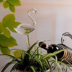 Gardening Supplies Glass Self Watering Sprinkler Houseplant Nurse Device, Watering Globe - Swan & Garden Plant Watering Bulbs, Self Watering, Water Flowers, Gardening Supplies, Sprinkler, Potted Plants, House Plants, Swan, Planting Flowers