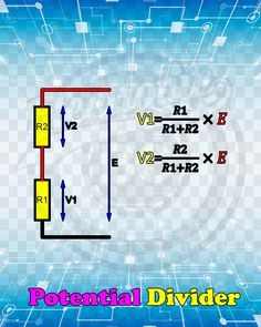A website specialized in electronic engineering and free books in all fields of electronic engineering Electronics Basics, Hobby Electronics, Electrical Projects, Electrical Installation, Solar Equipment, Voltage Divider, Ohms Law, Electric Circuit, Circuit Diagram