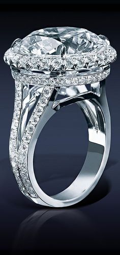 Idée et inspiration Bague Diamant : Image Description Jacob Co. Diamond Solitaire, 27.04 Ct…..HOLY HAUTE ROCK!