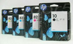New sealed unopened HP 10 Design Jet Black Ink Expiration 11 - 2012