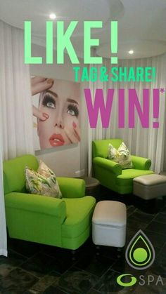 I even introduced colour in a mani and pedi room at O'on kloof...