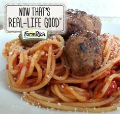 Always a kid pleaser...Spaghetti and Meatballs.