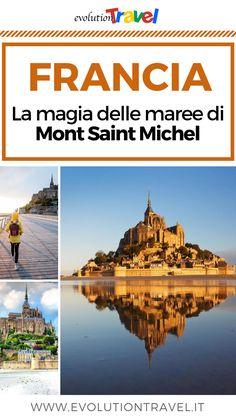 Orari delle maree a Mont Saint-Michel: consigli e info Mont Saint Michel, Taj Mahal, Saints, Around The Worlds, Places, Travel, Holidays, Blog, France