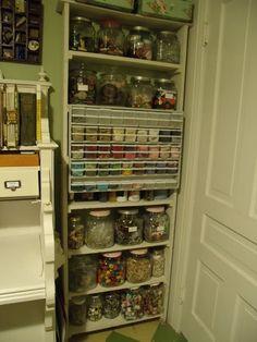 Pollyanna Reinvents: Finding More Craft Storage Space!