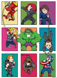 Marvel, thor, and avengers image. Marvel Dc, Marvel Avengers Comics, Marvel Avengers Assemble, Marvel Funny, Marvel Memes, Baby Marvel, Funny Avengers, Art Clipart, Bucky