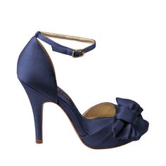 The perfect pair of blue heels for my something blue