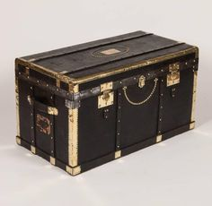 Black and Brass Trunk 6