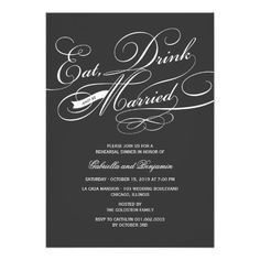 ReviewEat Drink And Be Married Rehearsal Dinner InviteWe have the best promotion for you and if you are interested in the related item or need more information reviews from the x customer who are own of them before please follow the link to see fully reviews