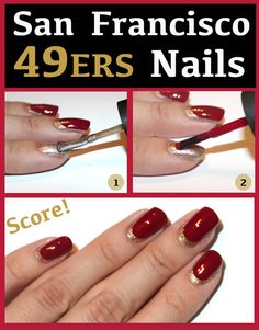 49ers nails.. supporting the team
