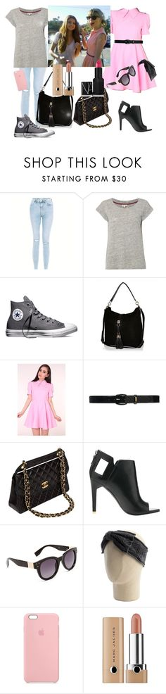 """Selena Gomez and Taylor Swift BFF Goalz "" by blue99star on Polyvore featuring New Look, White Stuff, Converse, River Island, Lauren Ralph Lauren, Chanel, Alepel, Sole Society, Grace Hats and Marc Jacobs"