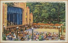 1955 Linen: Open Theatre, House David-Benton Harbor, MI