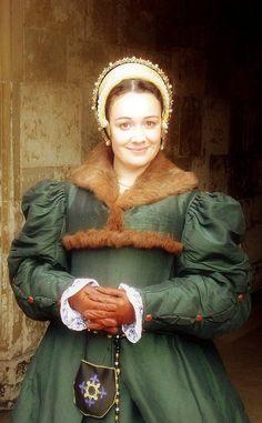 Hampton Court reenactor