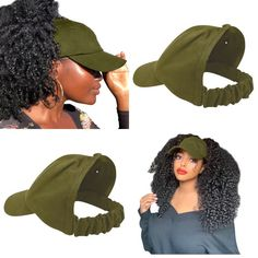 Satin Lined Baseball Cap Satin bonnet scrunchie hats for Beret Outfit, Curly Hair Styles, Natural Hair Styles, Natural Hair Accessories, Curl Pattern, Satin, Badass Style, Short Styles, Scrunchies