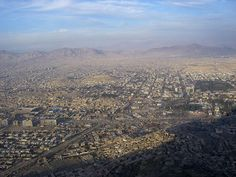 Afghanistan on my mind: Kabul - aerial views of the city. I cannot believe how huge Kabul has become since 1970 when I traveled there.