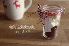 Kuddelmuddel: DIY: Heiße Schokolade im Glas