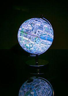 Illustrated London Night Light