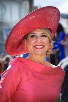 Queen Máxima, April 27 in Fabienne Delvgine | Royal Hats
