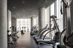 These images offer a peek at amenity spaces available to residents moving into Herzog & de Meuron's recently completed skyscraper in Tribeca, New York.