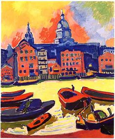Andre Derain - 1906 - St. Paul's Cathedral from the Thames