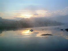 Ría de Plentzia, bajo la niebla dos