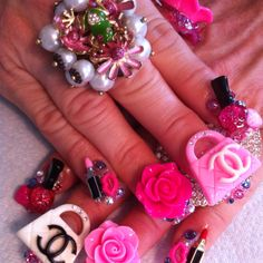 My Chanel nails