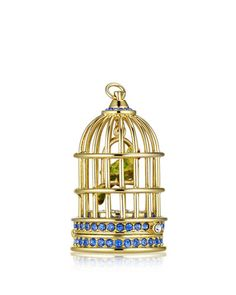 2015 Estee Lauder Limited Edition Private Collection Tuberose Gardenia Gilded Birdcage Solid Perfume
