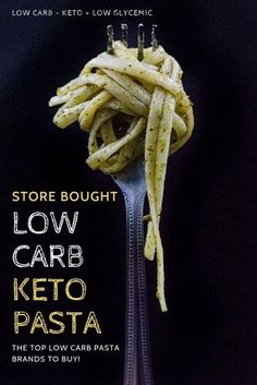 No need to try anymore low carb keto pasta recipes! Check out our list of the top low carb keto pasta store bought options online and in store! The best low carb keto pasta alternatives including a handmade low carb almond flour pasta you can buy! No Carb Noodles, No Carb Pasta, Pasta Noodles, Shirataki Noodles, Pasta With No Carbs, Keto Pasta Recipe, Pasta Recipes, Almond Flour Pasta Recipe, Keto Recipes