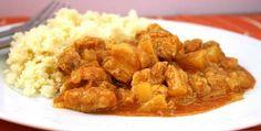 Emince de porc au curry avec thermomix Un délicieux plat de sauté de porc avec curry pour votre plat de dîner. Voila la recette pour faire ce plat.
