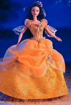Barbie® Doll as Beauty from BEAUTY and the BEAST  Collector Edition  Designed by: Sharon Zuckerman  Release Date: 1/1/2000