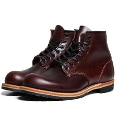The Best Men's Shoes And Footwear :   Red Wing 9016 Beckman 6″ Round Toe Boot (Cigar Featherstone)    -Read More – Botas Red Wing, Red Wing Boots, Black Boots, Sock Shoes, Men's Shoes, Shoe Boots, Leather Men, Leather Shoes, Best Shoes For Men