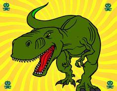 T-Rex colorato da Raptorjp il 25 di Dicembre del 2012  21  5  Acolore.com. Entra e colora il tuo proprio disegno T-Rex online gratis.