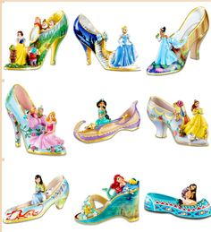 Disney shoes art