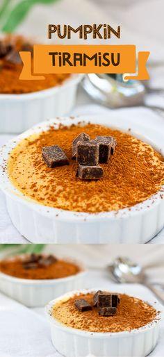This Pumpkin Tiramisu is a seasonal version of the classic Italian dessert.