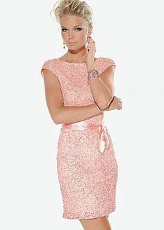 Its pink, it sparkles, its a dress...Im in love!