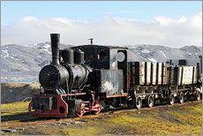 Spitzbergen | Alte Dampflok | Norwegen