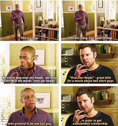 Guys Talking psych is life. Psych is better than you. Psych is PSYCH. Psych Memes, Psych Quotes, Psych Tv, Tv Quotes, Funny Quotes, Couple Quotes, Hilarious Memes, Memes Humor, Shawn And Gus