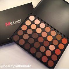 Morphe 350 palette #morphe350 #eyeshadow Instagram- @beautywithamalia