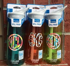 Lilly Pulitzer Inspired Monogramed Camelbak Water Bottle from SouthernSassGSU on Etsy. Preppy Girl, Sorority Life, Couture, School Supplies, Girly Things, Lilly Pulitzer, Helpful Hints, Floral Prints, Diy Crafts