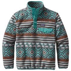 Patagonia Boy's Lightweight Synchilla Snap-T