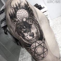 """Tatuagem feita por <a href=""""http://instagram.com/gustavoabreutattoo"""">@gustavoabreutattoo</a>   Gustavo Abreu Artista Souless Tattoo ✖️Blackwork Tattoo ..."""