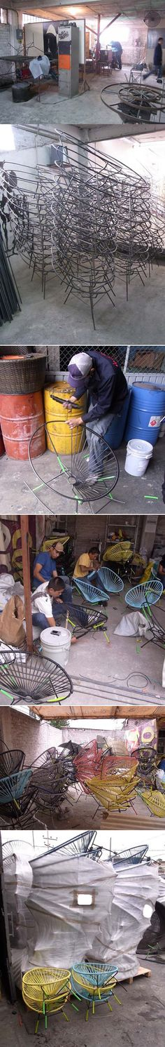 How to make an Acapulco Chair.