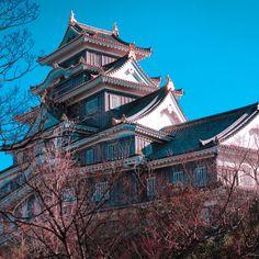 岡山城 okayamacastle