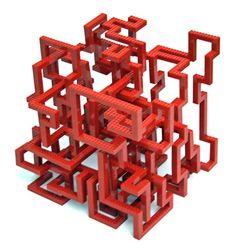 Infinity — Nathan Sawaya — The Art of the Brick